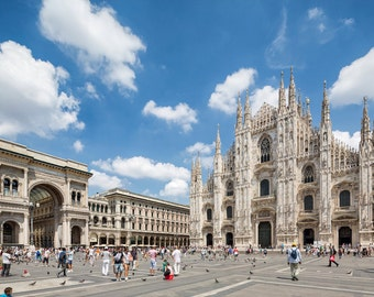 Italy Photography, Milan Cathedral, Duomo Milan, Gallery Wall Art, Michael Evans, Summer In Italy, Romantic Italy, Architecture
