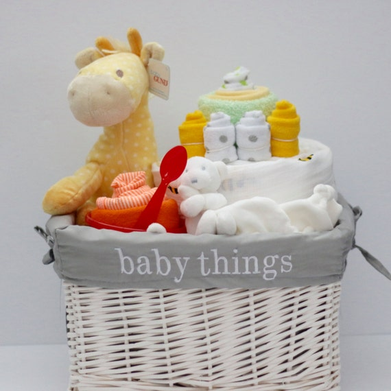 gender neutral baby gift basket baby shower gift unique baby gift