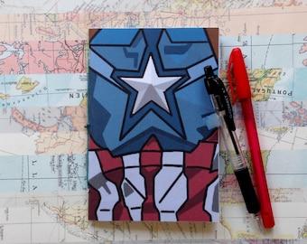 Captain America - Mini Notebook - Captain America: Civil War - Marvel