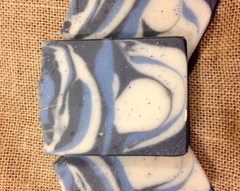 SALE !! Cold Process Soap, Twilight Woods Soap, Artisan Soap, Woodsy Scented Soap, Mens Soap, Womens Soap