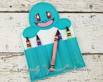 Squirt Crayon Holder, Toddler Arts and Crafts, Back To School, Travel Case