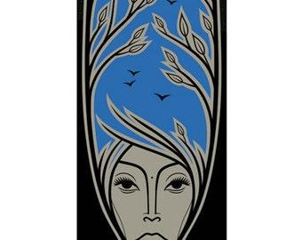 Erykah Badu Screen Print (small)