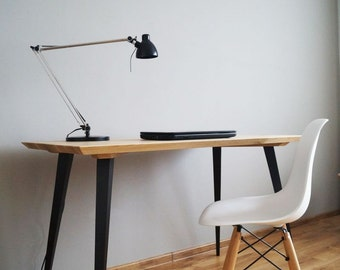 "Work desk ""Just Oak Simple""mid century,computer desk,office desk"
