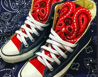 Bandana Converse Chuck Taylor All Star Shoes
