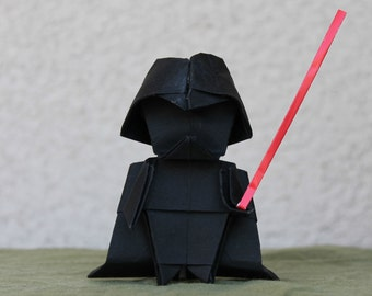Darth Vader - Star Wars - Origami - Dark Lord