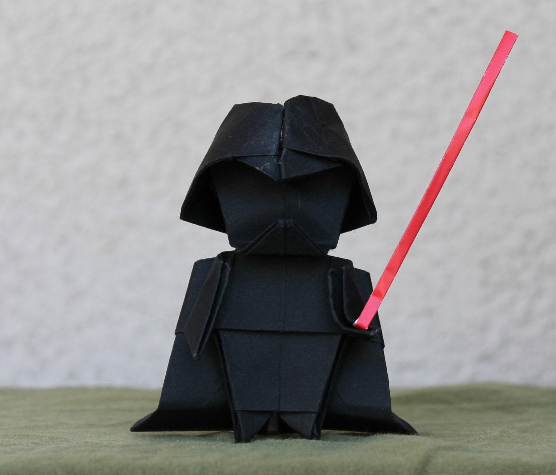 Darth Vader Star Wars Origami Dark Lord - photo#21