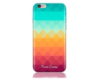 iPhone 5 Case - iPhone SE Case #Pixel Waves Cool Design Hard Phone Case