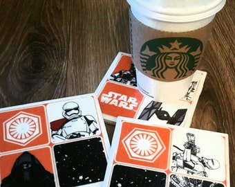 Star wars cup coasters