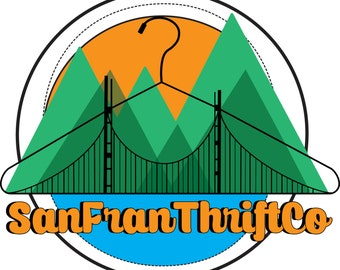 SanFranThriftCo Stickers! | Bay Area | San Francisco