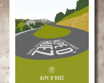 Alpe d'Huez 21_Hairpin 6