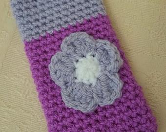 Phone sock handmade crochet iphone