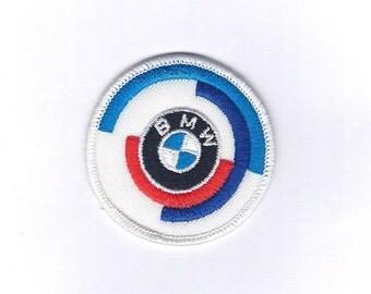 Vintage BMW Motorcycle - Biker Patch