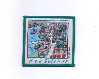 Vintage New Orleans Mississippi River