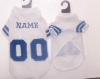 Dallas Cowboys Custom Polar Fleece Dog Coat