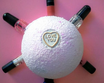 Ladies Bath Bomb, Girls Bath Bomb, Surprise Bath Bomb, Gift for wife, Gift for girlfriend, Lafis Birthday Gift, XmasGift, Valentines Gift