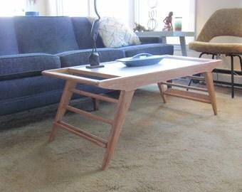 Unique Mid Century Modern Splay Leg Table