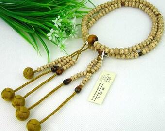 Large Juzu traditional Buddhist prayer  beads, high quality bodhi nichiren sgi onenju, free world shipping