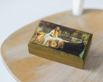 Small Box with Girl in Boat