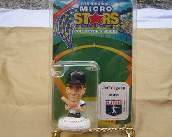 The Original Micro Stars-Jeff Bagwell-Houston Astros-Baseball Collectible-Never Been Opened!