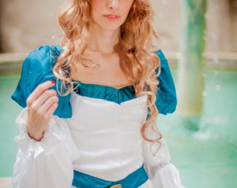 Odette swan princess cosplay