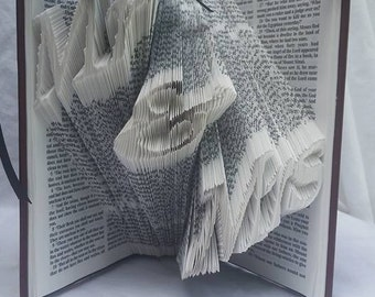 Mr. & Mrs. Custom Folded Page Book