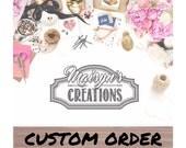 Custom Order for Cam