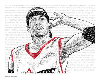coloring pages of allen iverson-#10