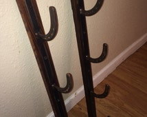 Rustic Horseshoe Gun Rack