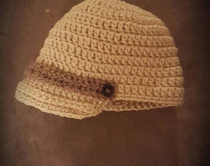 0-3 months Newsboy Hat