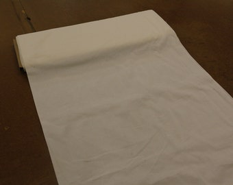 Solid White not bleached Quilting Fabric By The Yard