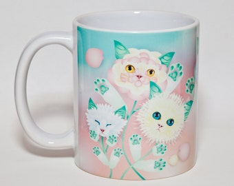 Kitten Bouquet MUG