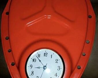 man cave auto parts clock