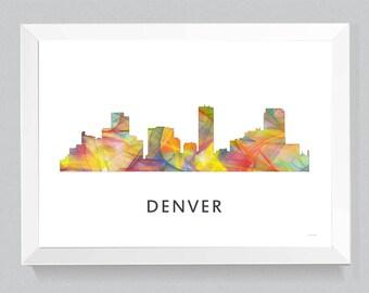 Denver, Colorado Skyline WB1