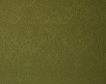 SCALAMANDRE BARKER MANSION 100% Worsted Wool Damask Fabric 5 Yards Special