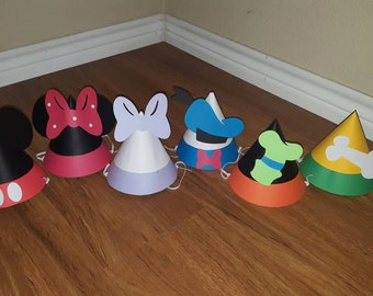 24 Mickey Mouse Clubhouse Party Hats