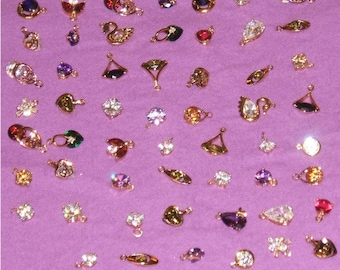 Gold Filled Jewelry Findings 78pcs