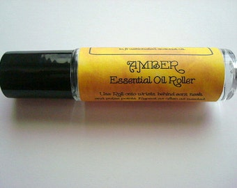Amber Essential Oil, Amber Perfume, Amber Rollerbottle, Amber Oil, Pure Essential Oils
