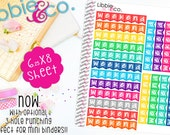 LS1  Weekend Stickers!  Weekend Stickers  Set of 20 Perfect for the Erin Condren Planner!!!