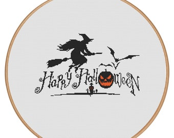 MORE for FREE - Halloween - Holidays - Counted Cross stitch pattern PDF-Instant Download-Cross Stitch Pattern -Needlepoint - #1005