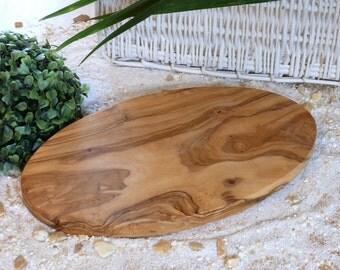 Cutting board oval 30 x 16 cm / 11.8 x 6.2 inches