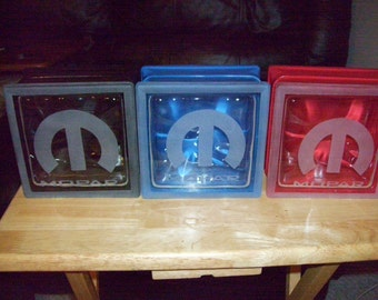 Mopar glass block