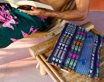 Handmade Guatemalan laptop cover
