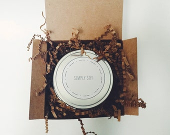 8 oz Simply Soy Candle