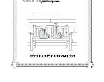 PDF Boot Carry Bags Pattern