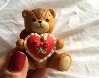 Lucy Rigg teddy bear figurine