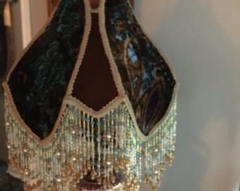 Victorian  handmade  lamp shade