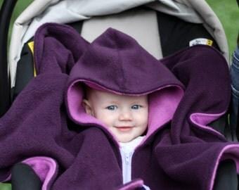Car Seat Poncho Cover- Baby Winter Coat - Kids Winter Jacket - Toddler Jacket - Riding Hood - Car Seat Safe Jacket - Car Seat Hoodie