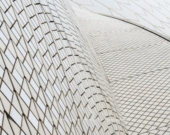 Sydney Opera House Abstract - Australia - Landscape - Fine Art Print