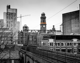 Palace Hotel / Manchester / MCR / Railway Arches / City / Urban / Wall Art / Skyline