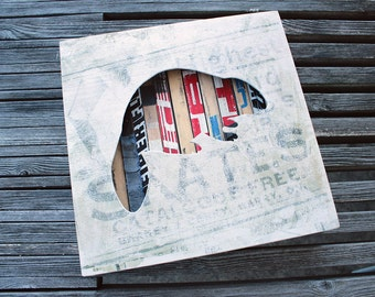 Beaver Reclaimed Hockey Stick Shadow Box
